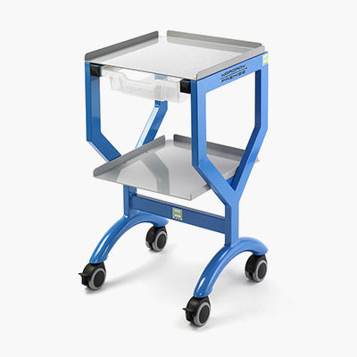 Utility trolley with optional drawer