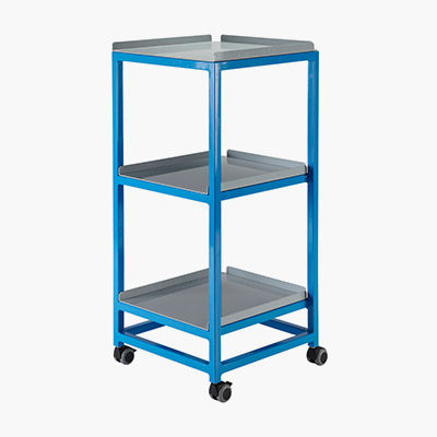 Utility Trolley With Shelves