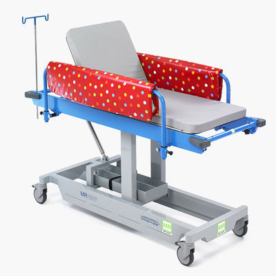 Paediatric Fixed Height Patient Trolley