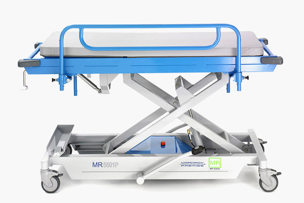 Paediatric Adjustable Height Patient Trolley